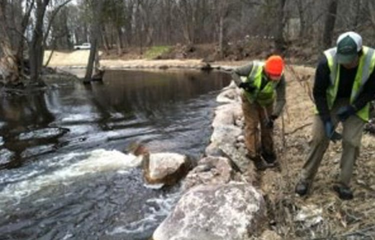 Stream and Shoreline Restoration Construction Minneapolis